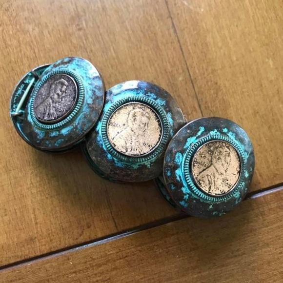 Vintage penny bracelet